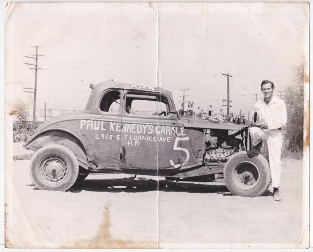 1954-55 #5 Hank Hilton 20y at Slauson