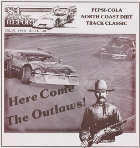 1984 Here Come The Outlaws (Stock Report) Border