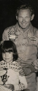 Hank Hlton and niece Bristol Woodhurst circa 1980s