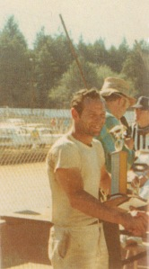 Hank winning another trophy at Redwood Acres, early 1970s.