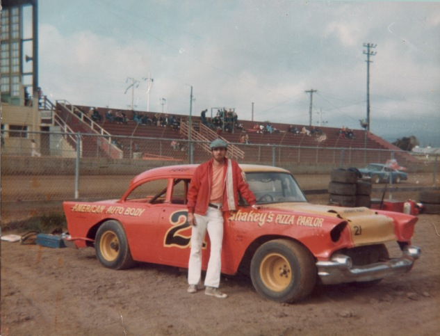 1976-79 Fergy and Car in  Pits