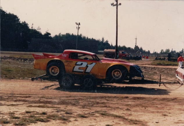 Mid-1980s dirt car for the clay track at Redwood Acres