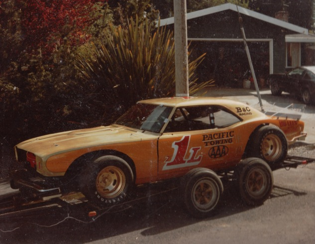 1982 1L Limited Sportsman on trailer