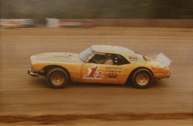 "In 1982 Fergy ran the Champion's #1, but if you looked closely there was still a tiny ""2"" in front of it still.  He finished 3rd in the Limited Sportsman points that year."