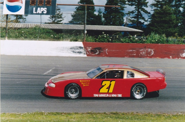 Fergy's first race at RAR after a layoff in 2004