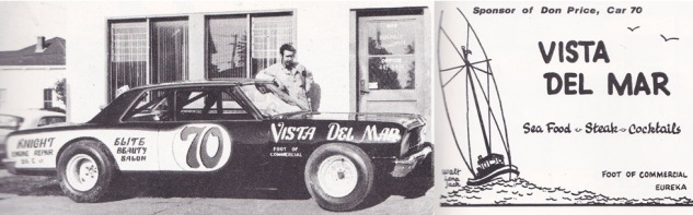 1972 #70 SRRA Yearbook Car and Ad