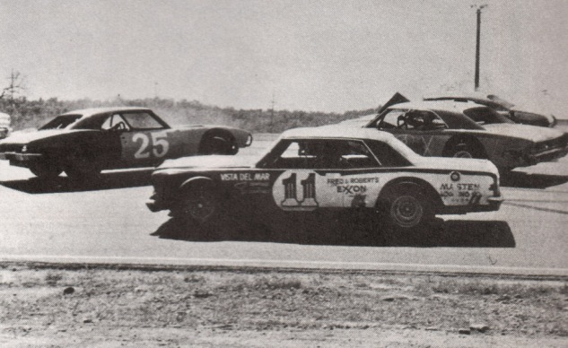 Don in traffic, Shasta program circa 1975