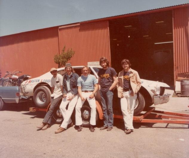 Don Price, Rocky Peterson, Dennis Martin, brother James Price, Bill Gillespie