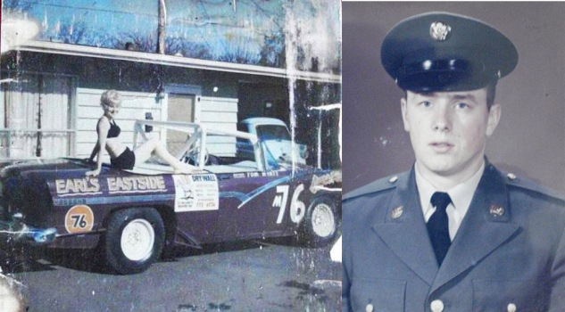1956 Ford Tom raced before being drafted by the Army 1966