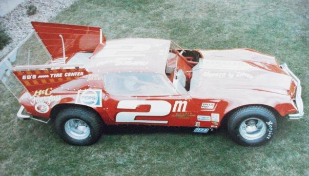 1981 Red Camaro