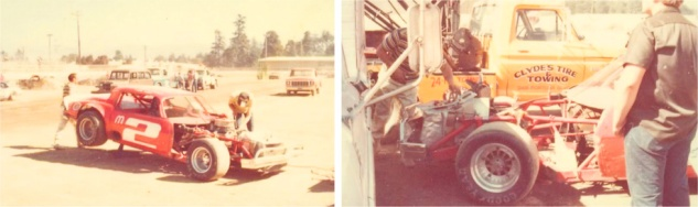 Quick change at the Acres infield pits (Photo courtesy of Jay McCleary)