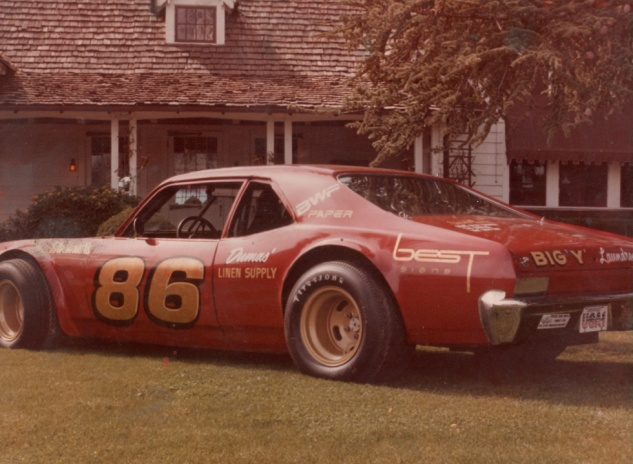 Dane's 3rd car - the Nova - he raced at Medford, Anderson, and Redwood Acres.